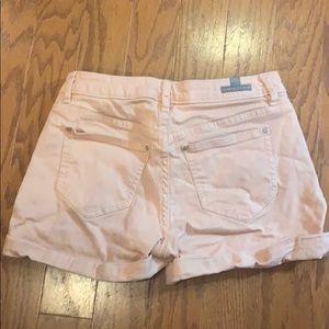 LC Lauren Conrad Shorts - LC Lauren Conrad Peach Denim Shorts - size 2